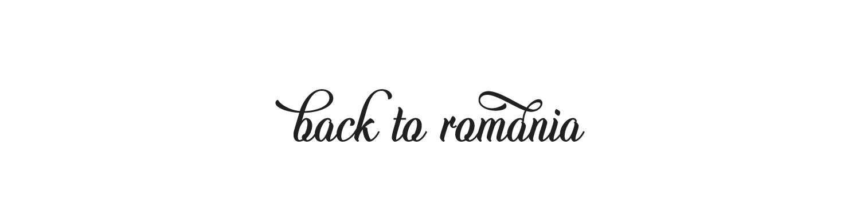 Back to Romania