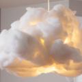 Cum mi-am făcut o lampă în formă de norişor
