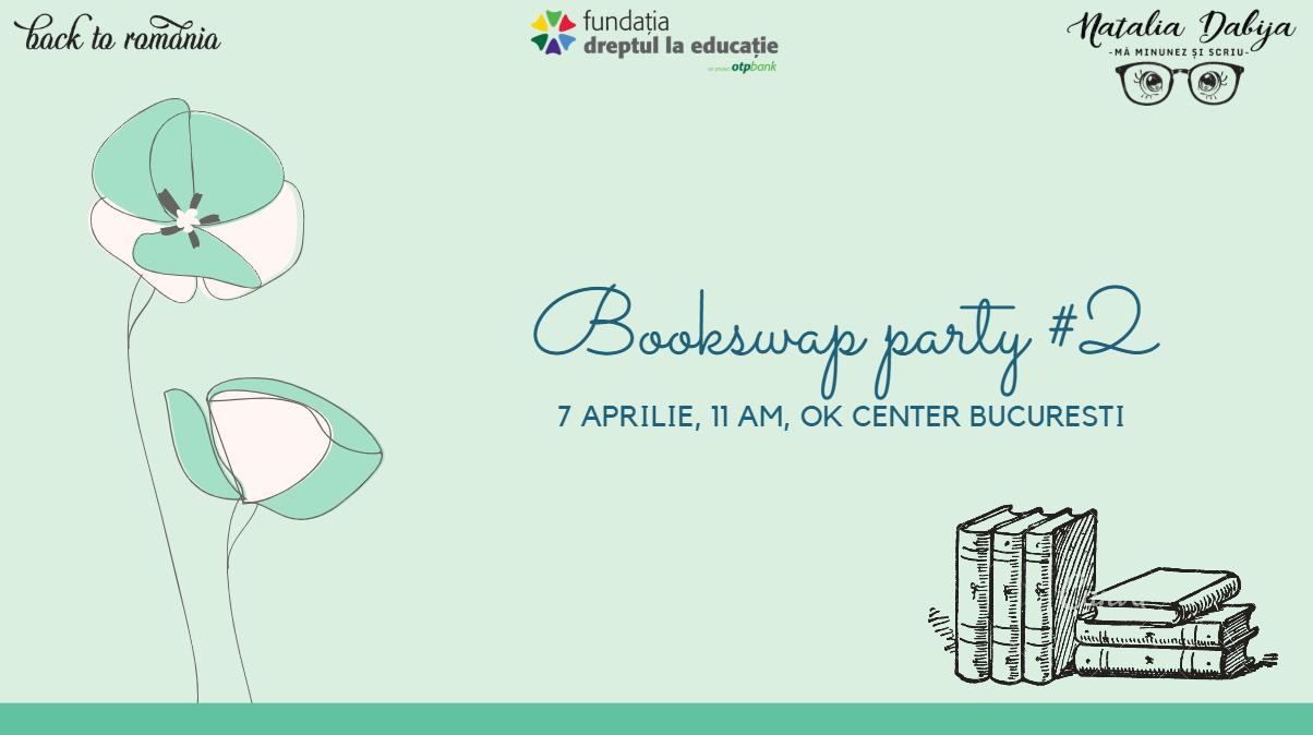 It's a date: Bookswap #2, 7 aprilie 2019 @ OK CENTER